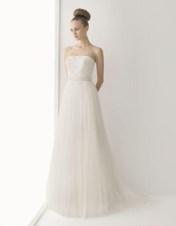 Vestido de novia corte imperio de Rosa Clará Soft 2012