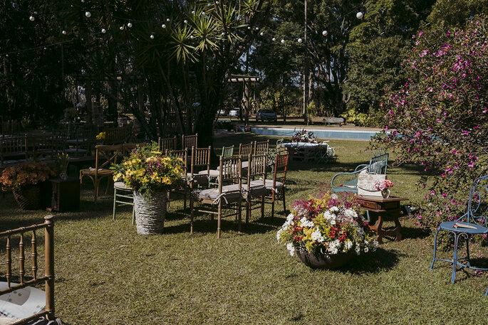 Cenário cerimônia