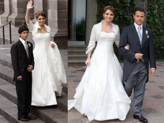 Vestido de novia de La Gaviota, Angélica Rivero