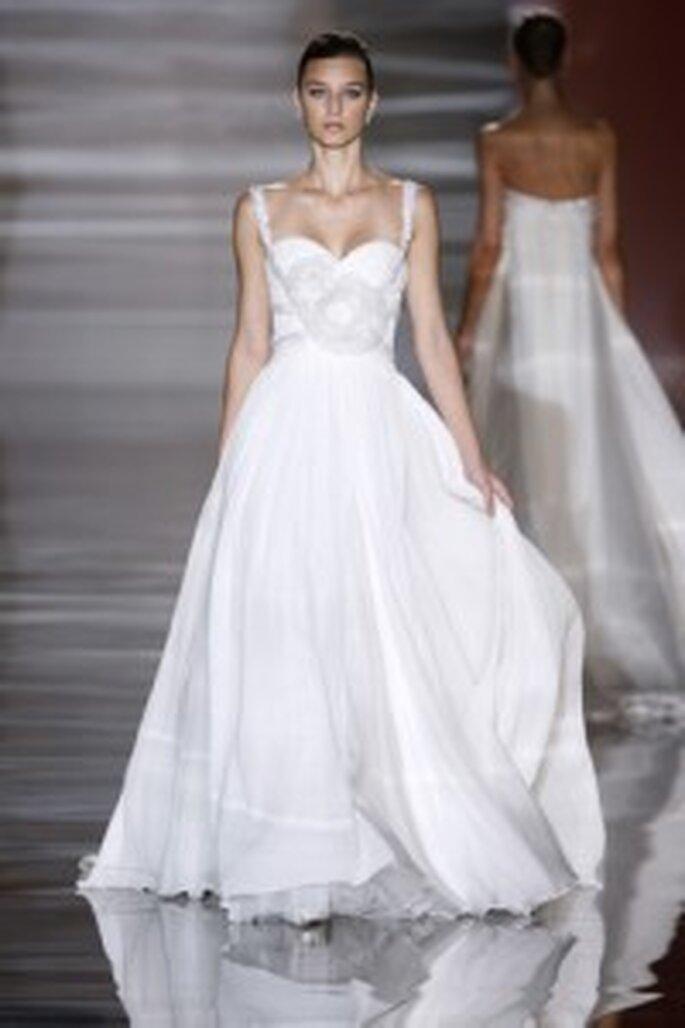 Robe de mariée Christian Lacroix - bohême inspiré de Paris 2009