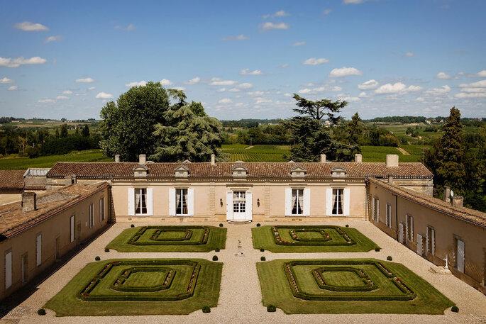 Le Château Fombrauge, lieu de réception en Gironde