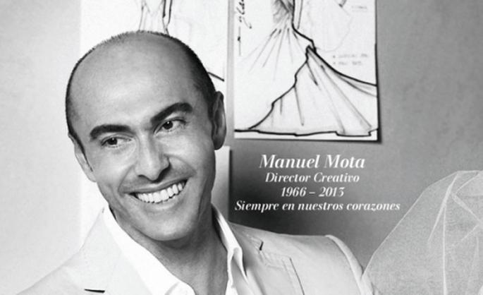 Manuel Mota deja un gran legado como director creativo de Pronovias - Foto Pronovias