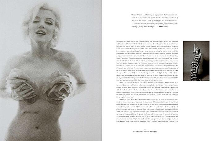 El nuevo libro de TASCHEN sobre Marilyn recoge textos sobre su vida del escritor Norman Mailer. Foto: Taschen