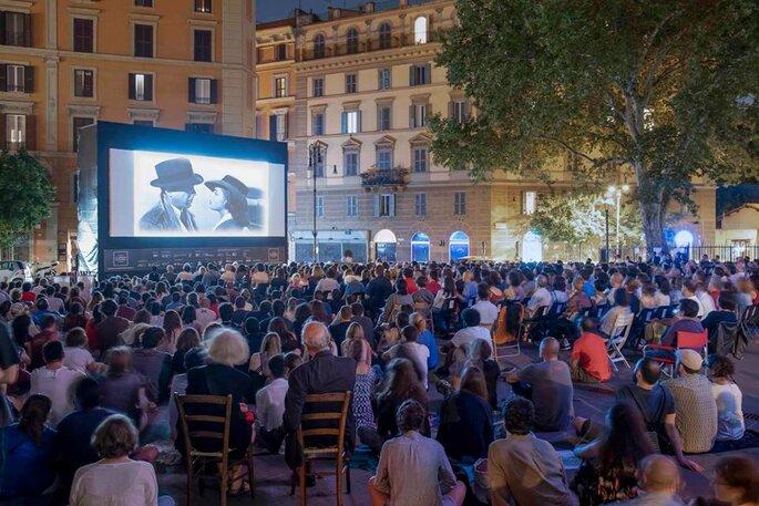 Foto via facebook @Il Cinema in Piazza