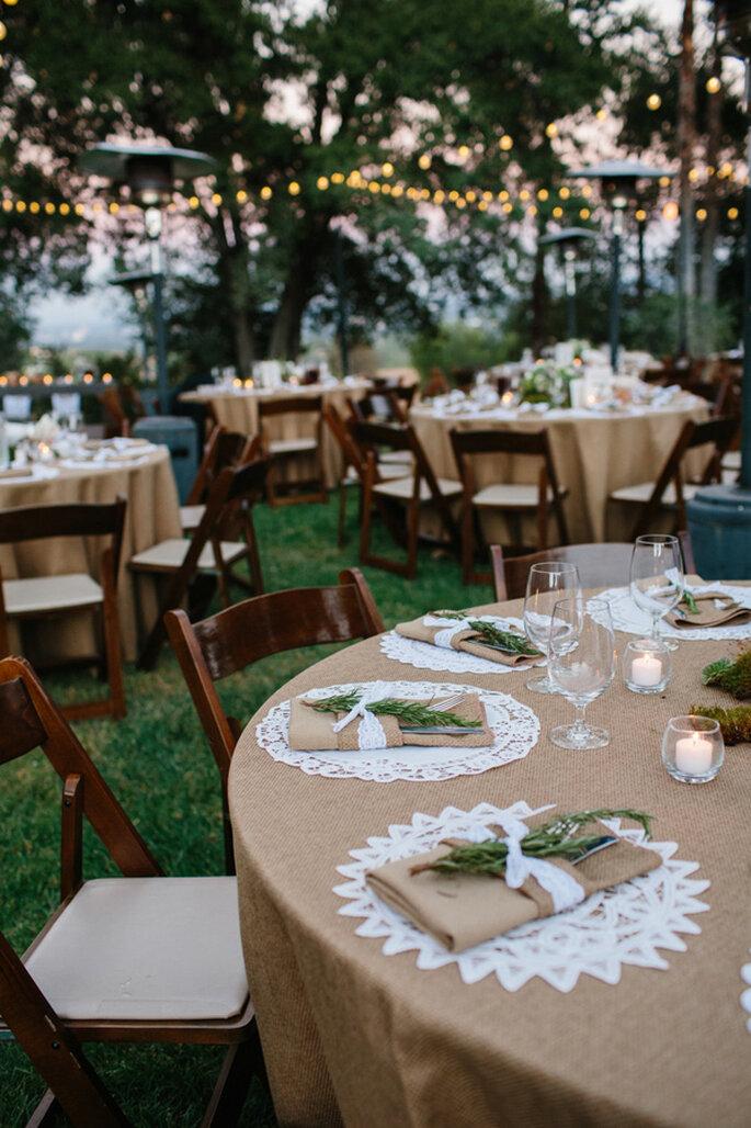 Tu boda con acabados decorativos en caoba - Foto Marianne Wilson