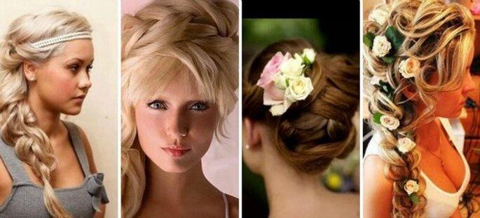 Coiffure de mariage : on ne la choisit pas à la légère - Source : Pinterest