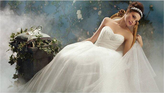 Disney Fairy Tale Weddings by Alfredo Angelo