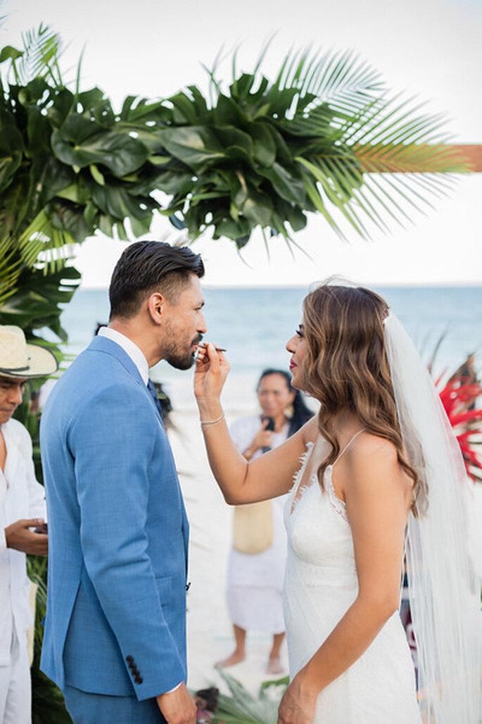 Ceremonia de las semillas en ceremonia maya