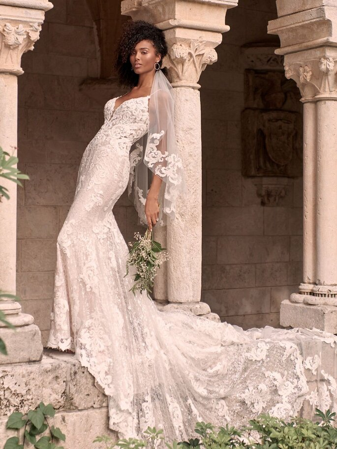 Vestidos de novia elegantes para bodas 2021 Maggie Sottero