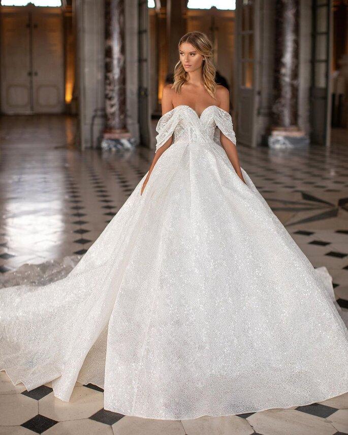 Vestidos de novia corte princesa