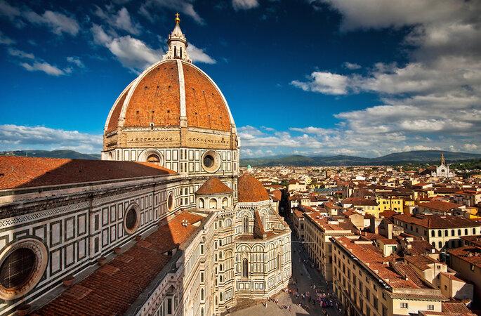 10 de las ciudades más románticas en Italia para tu luna de miel (Florencia) - Shutterstock