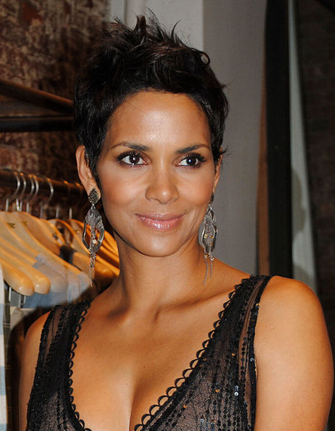La actriz Halle Berry - Foto German Marin. Wikimedia Commons