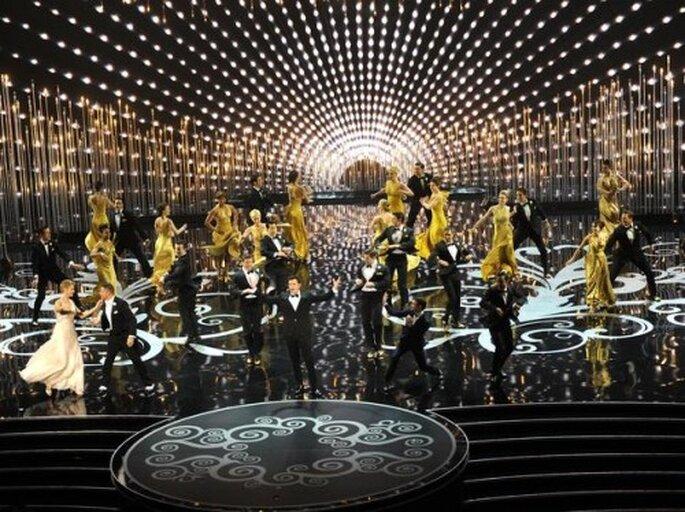 Ambientación vintage en Los Oscars - Foto Getty Images