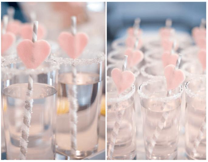 Una boda inspirada en San Valentín con muchos corazones - Foto Natalie Spencer Photography