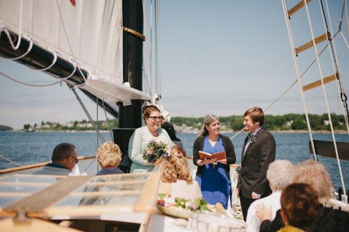 Maritime Hochzeit auf der Nordsee – Foto: Alexandra Roberts