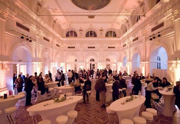 Casino Baumgarten bietet Räumlichkeiten für die Hochzeit. Foto: Casino Baumgarten