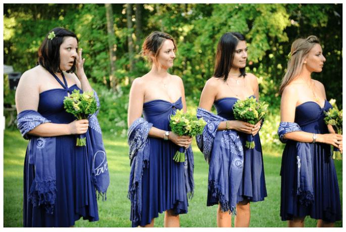 Vestidos para damas de boda en tendencia - Foto Imaginative Studios