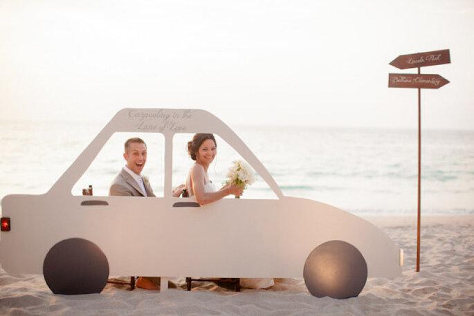 5 ideas divertidas para hacer el photocall de tu boda. Foto-Daniel Kim Photography