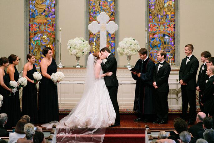 Las fotos de boda con los besos más románticos - Foto Juston DeMutiis