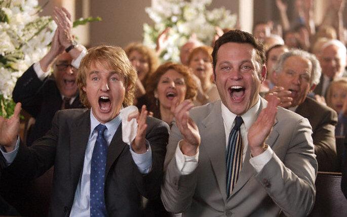 Personas que se autoinvitan a la boda