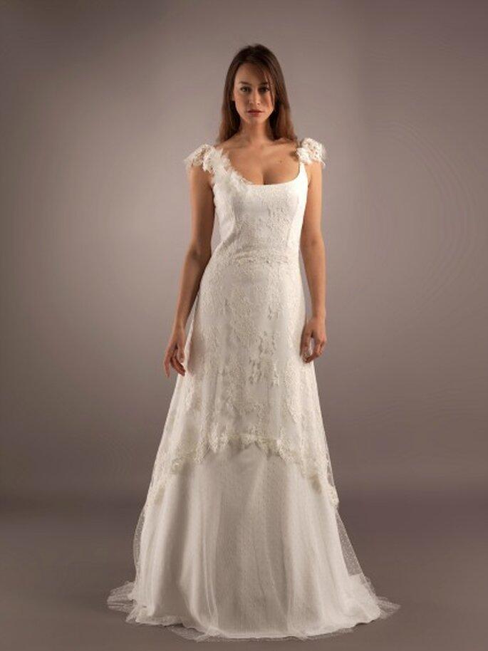 En quel tissu sera votre robe de mariée 2013 ? - Photo : Lambert Créations