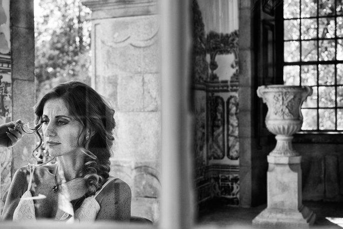 Fotografia: Nelson Marques + Andreia Torres Photography |Styling: GUIDA Design de Eventos ® | Vestido de noiva & Alta costura: Atelier Gio Rodrigues | Maquilhagem e cabelo: Espelho Meu