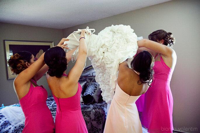 Llegarás muy relajada a tu boda después de este dulce masaje. Foto: