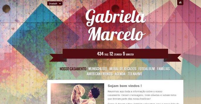 Erstellen Sie Ihre Hochzeits-Website mit Zankyou