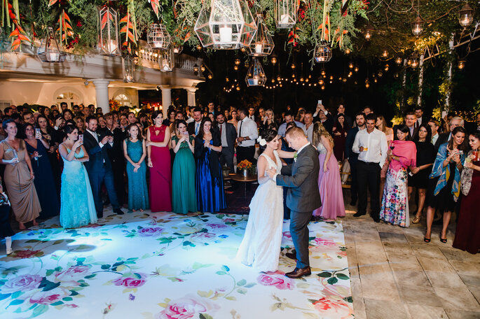 Pista de dança florida