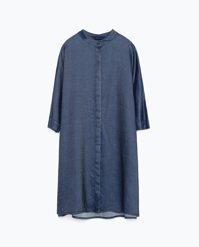 Camisola vaquera de Zara 29.95 Euros