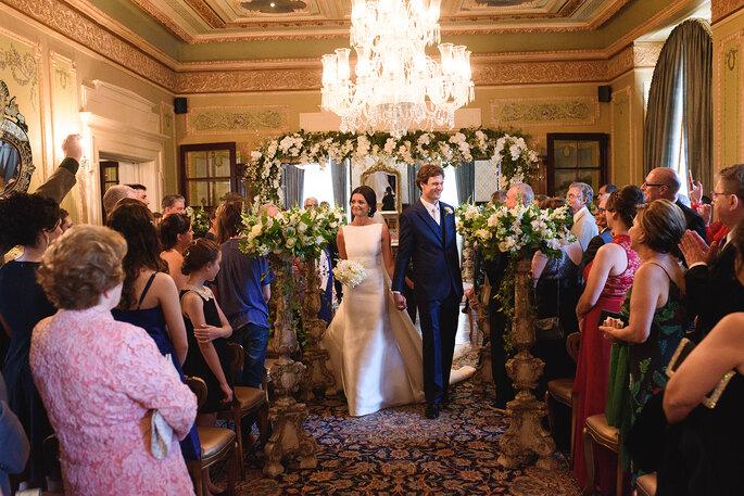 saída recém-casados