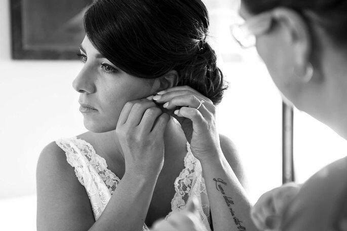 Lisa Bolognani - sposa orecchini