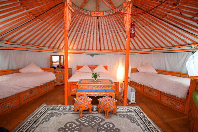 Le Nomade Lodge - Lieu de réception - Seine-et-Marne