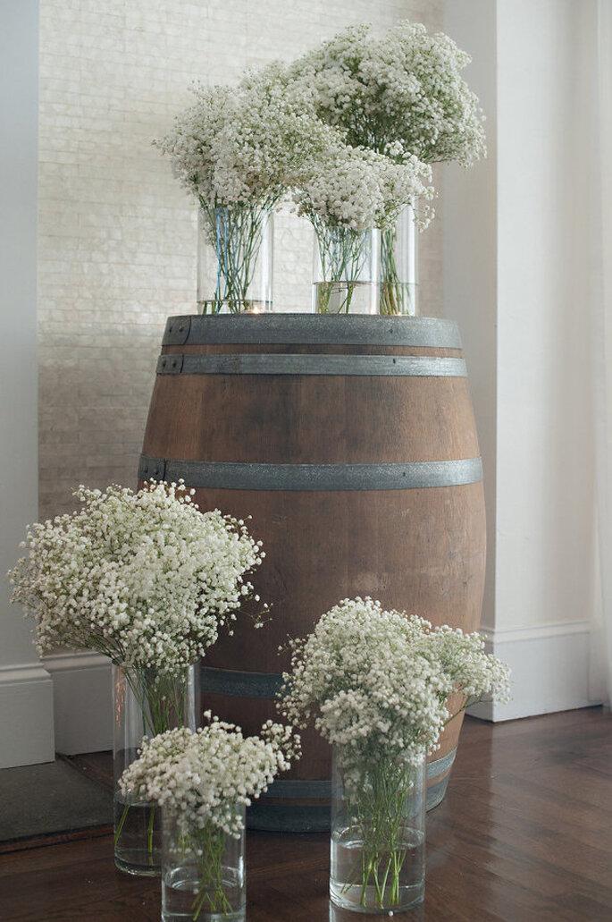 decoración con barriles - Steve DePino