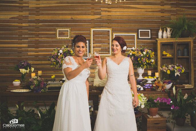 Brinde noivas
