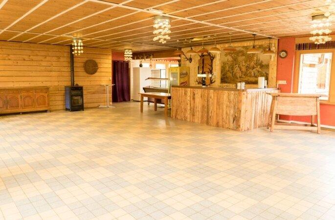 Salle de réception rustique et authentique du Chauffour dans les Vosges