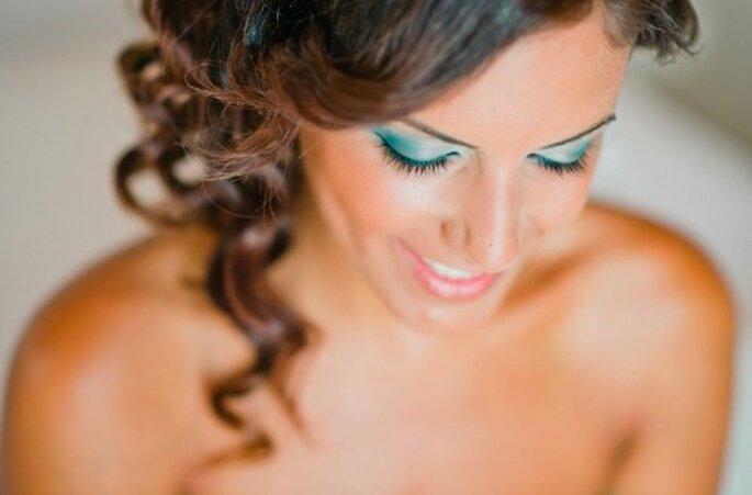 Auch das Make up sorgte für sommerliche Stimmung – Foto: nadia meli