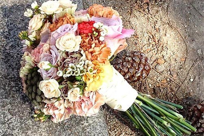 Ramo de novia de diseño. Foto: BQT Inspiring wedding bouquets