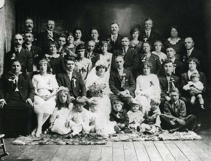 Boda en 1910. Foto: Beaton Institute