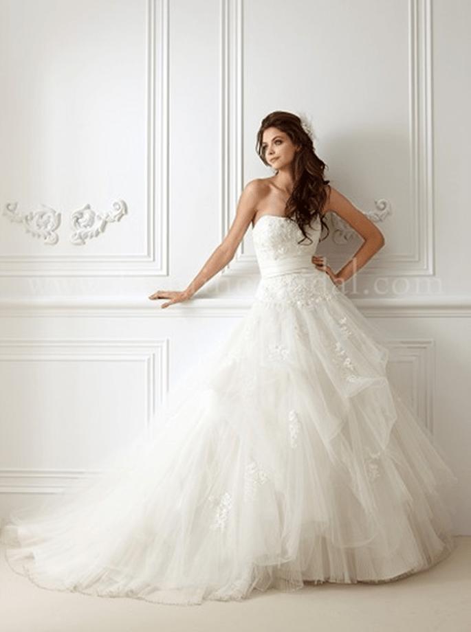 Märchen-Hochzeitskleid von Jasmine Bridal - Modell F472 - Foto:www.jasminebridal.com
