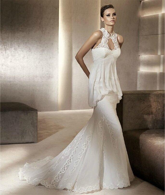 El vestido de novia mas hermoso