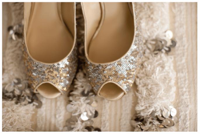 Presume tus increíbles zapatos de novia en lindas tomas - Foto Sarah Yates
