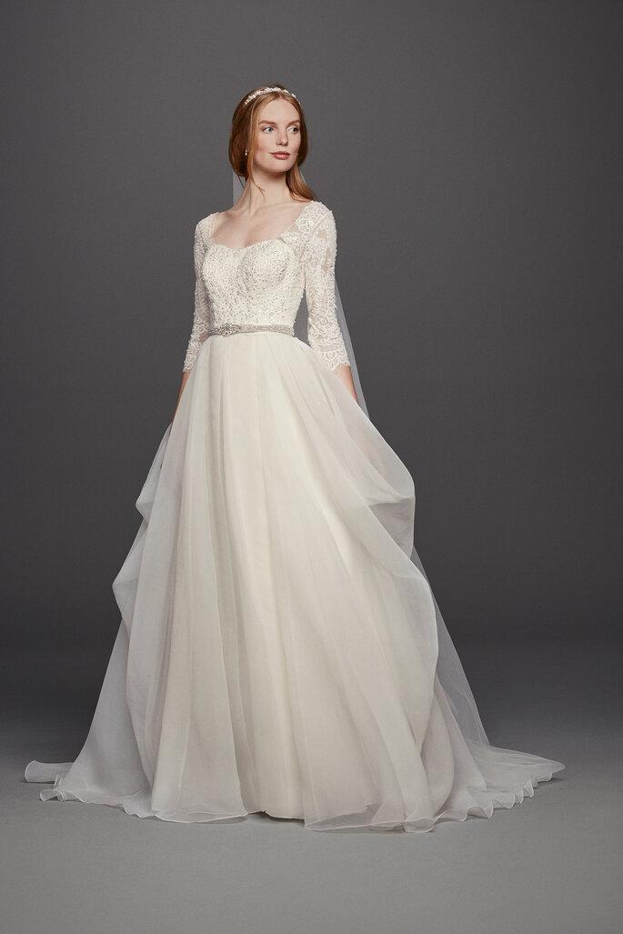 Vestido Oleg Cassini en David´s Bridal