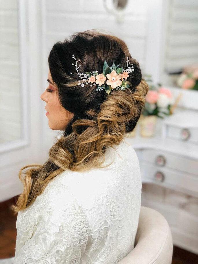 Banging peinados 2021 novias Colección de tendencias de color de pelo - Joyas para peinados de novia 2021: ¡el toque romántico ...