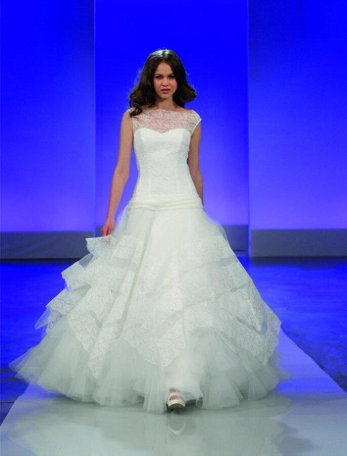 Cymbeline 2013 nous présente la robe de mariée Galice au travers de son film romantique
