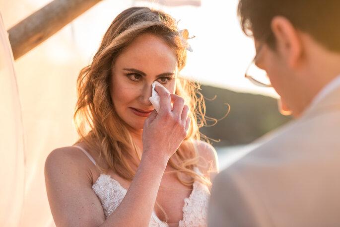 Penteado solto para noiva