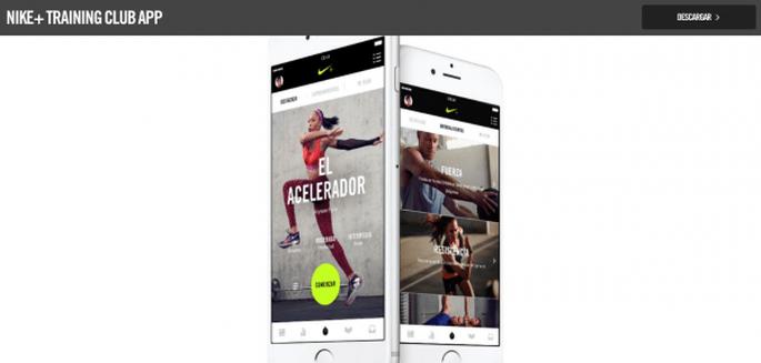 Foto: Nike + Training Club App