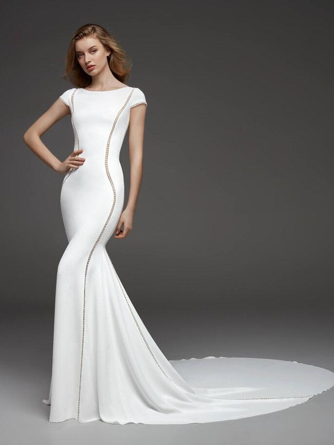 Robe de mariée simple et chic