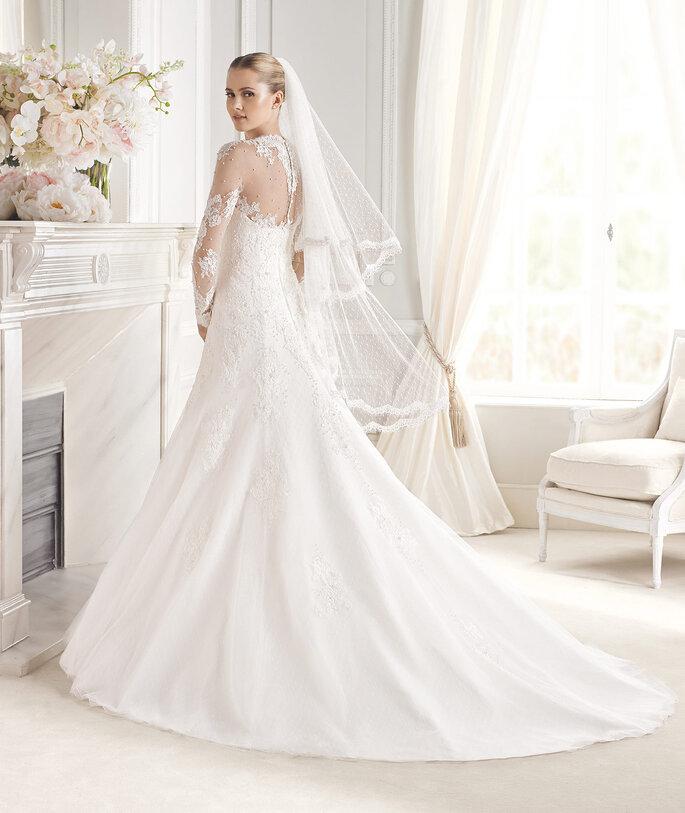 Modelo Evita da colecção 2015 da La Sposa.