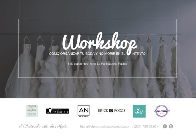 El primer workshop de novias en Puebla 4 de septiembre